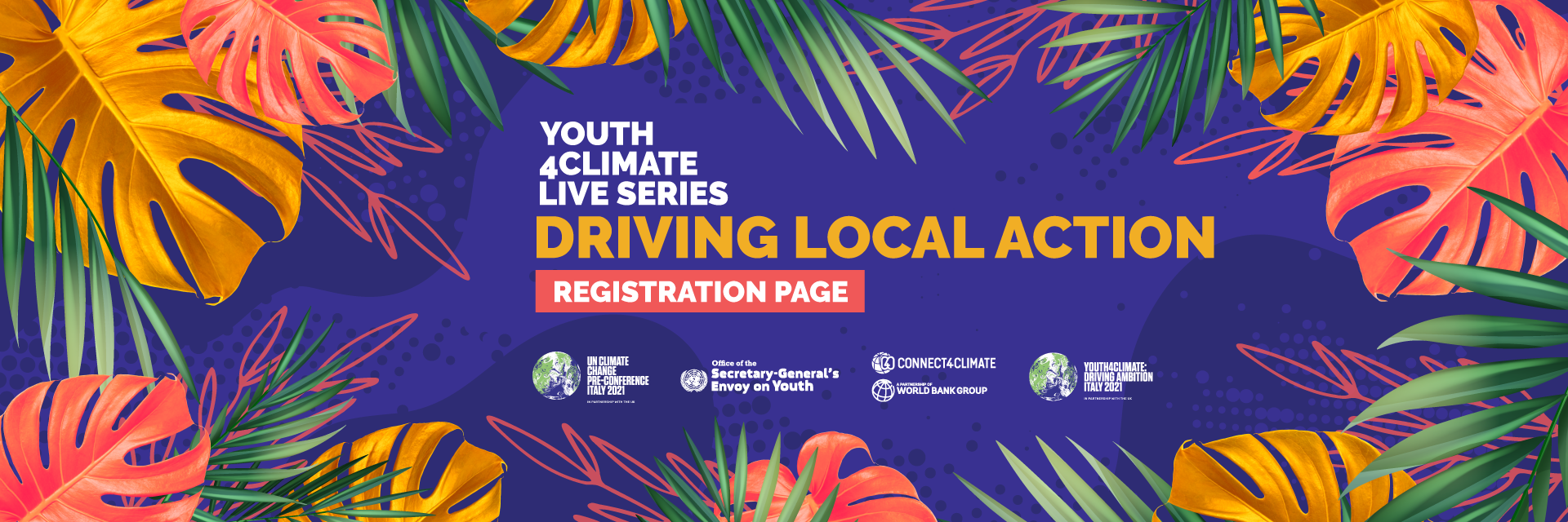#YOUTH4CLIMATE LIVE SERIES